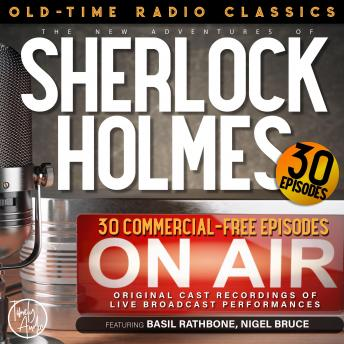 THE NEW ADVENTURES OF SHERLOCK HOLMES, 30-EPISODE COLLECTION