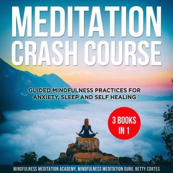 Meditation Crash Course - 3 Books in 1: Guided Mindfulness Practices for Anxiety, Sleep and Self Healing
