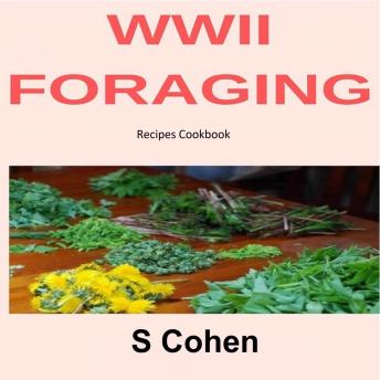 WWII Foraging Recipes Cookbook sample.