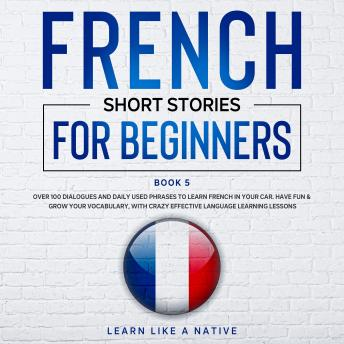 Download French Short Stories for Beginners Book 5 by Learn Like A Native