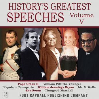 History's Greatest Speeches - Vol. V