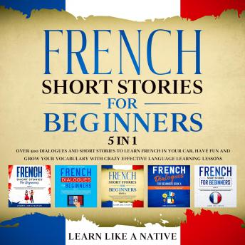 French Short Stories for Beginners – 5 in 1: Over 500 Dialogues & Short Stories to Learn French in y