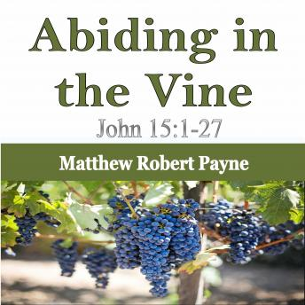 Abiding in the Vine: John 15:1-27
