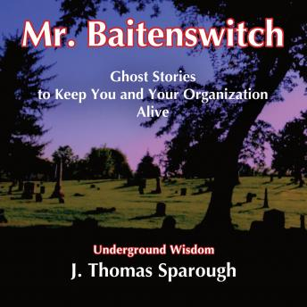Download Mr. Baitenswitch: Ghost Stories to Keep You and Your Organization Alive by J. Thomas Sparough