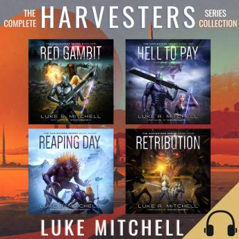 The Complete Harvesters Series Collection: A Post-Apocalyptic Alien Invasion Adventure