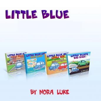 Little Blue Cars Series-Four-Book Collection