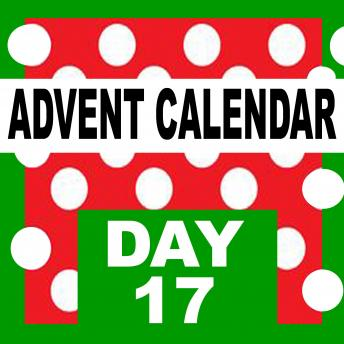 Advent Calendar: Starting on December 1st, count the days till Christmas-eve.