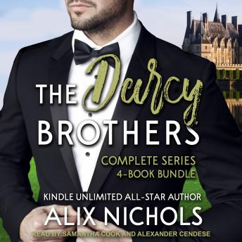 The Darcy Brothers Complete Series 4-Book Bundle Boxed Set
