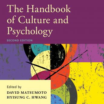 Handbook of Culture and Psychology: 2nd Edition details