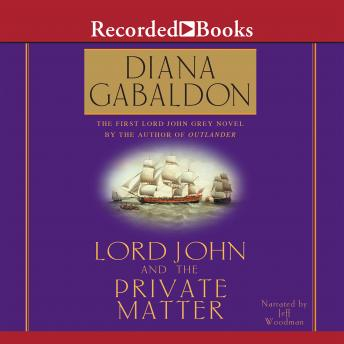 Lord John and the Private Matter 'International Edition'