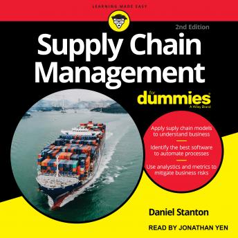 Supply Chain Management For Dummies: 2nd Edition