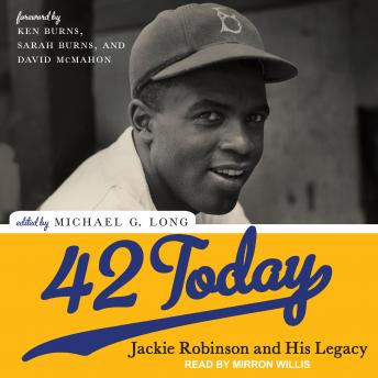 Download 42 Today: Jackie Robinson and His Legacy by Michael G. Long