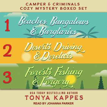 Download Camper and Criminals Cozy Mystery Boxed Set: Books 1-3 by Tonya Kappes
