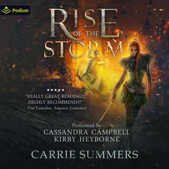 Rise of the Storm: The Broken Lands, Book 2, Carrie Summers
