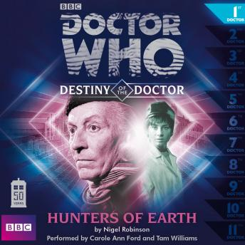 Doctor Who - Destiny of the Doctor - Hunters of Earth, Nigel Robinson