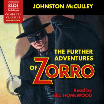 Further Adventures of Zorro sample.