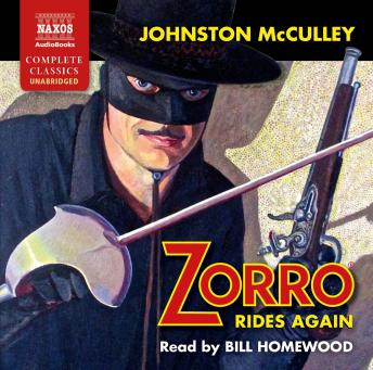 Zorro Rides Again, Johnston McCulley