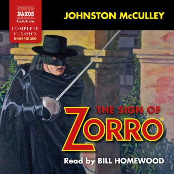 Sign of Zorro, Johnston McCulley