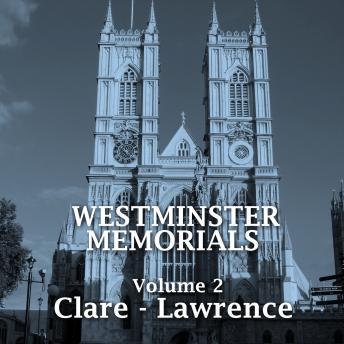 Westminster Memorials - Volume 2