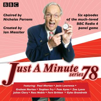 Just a Minute: Series 78: BBC Radio 4 comedy panel game
