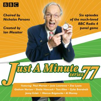 Just a Minute: Series 77: BBC Radio 4 comedy panel game