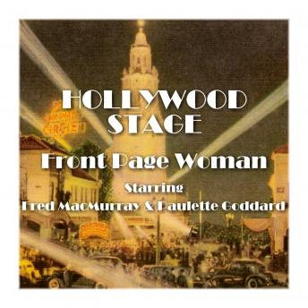 Hollywood Stage - Front Page Woman