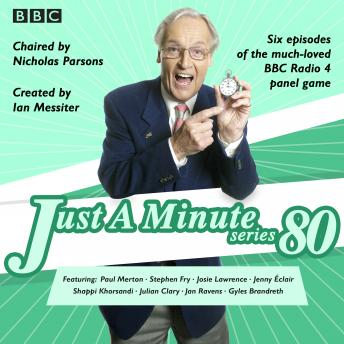 Just A Minute: Series 80: BBC Radio 4 comedy panel game sample.