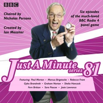 Just a Minute: Series 81: The BBC Radio 4 comedy panel game