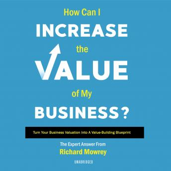 Download How Can I Increase the Value of My Business?: Turn Your Business Valuation Into a Value-Building Blueprint by Richard Mowrey