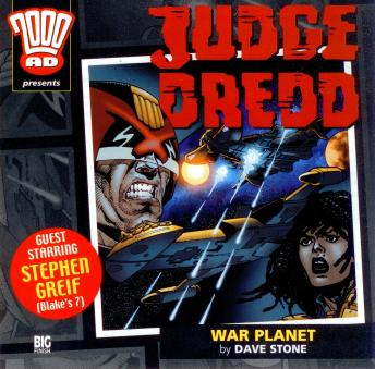2000AD - 12 - Judge Dredd - War Planet, Big Finish Productions