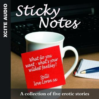 Sticky Notes - A collection of five erotic stories, Cathryn Cooper