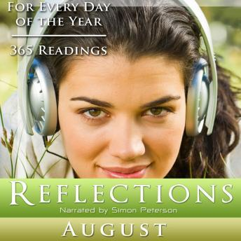Reflections: August, Simon Peterson
