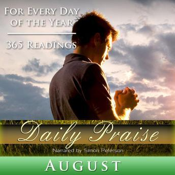 Daily Praise: August, Simon Peterson