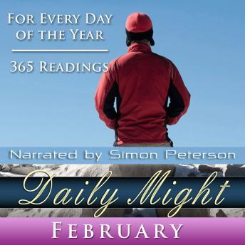 Daily Might: February, Simon Peterson