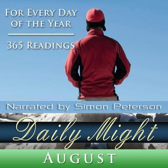Daily Might: August, Simon Peterson