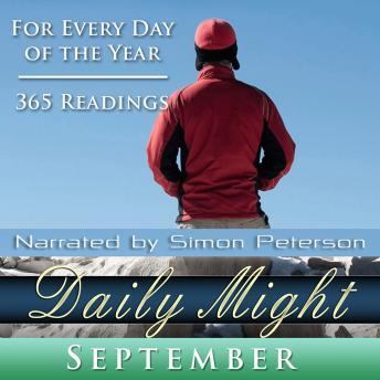 Daily Might: September, Simon Peterson