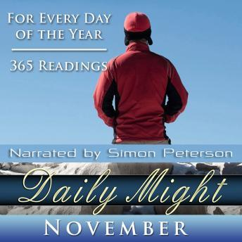 Daily Might: November, Simon Peterson