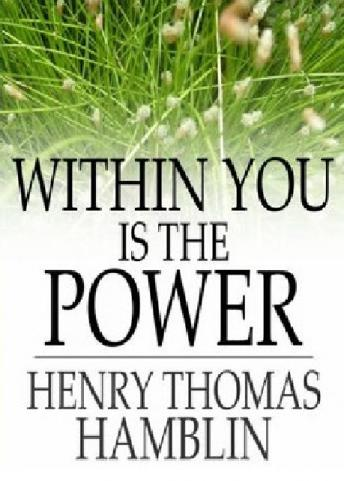 Within you Is The Power sample.