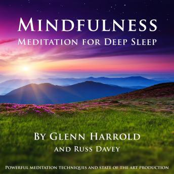 Download Mindfulness Meditation for Deep Sleep by Glenn Harrold, Russ Davey