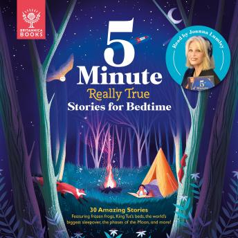 Britannica 5-Minute Really True Stories for Bedtime details