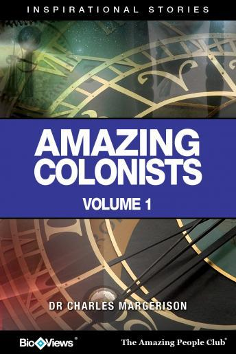 Amazing Colonists - Volume 1: Inspirational Stories sample.