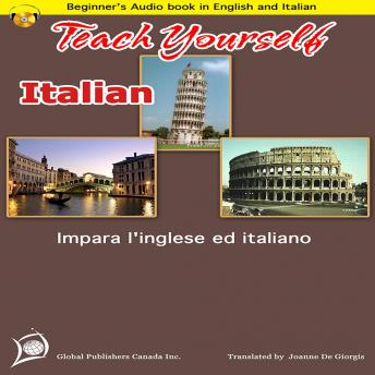 Italian-English Beginner's Audio Book, Global Publishers Canada Inc.
