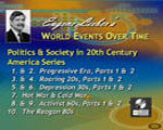Politics & Society in 20th Century America Series: (10 lectures), Eugene Lieber