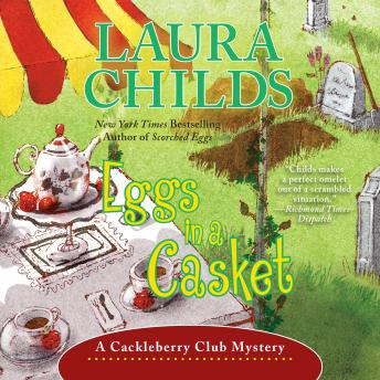 Eggs in a Casket, Laura Childs