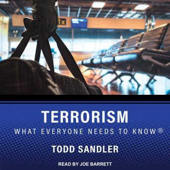 Download Terrorism: What Everyone Needs to Know by Todd Sandler