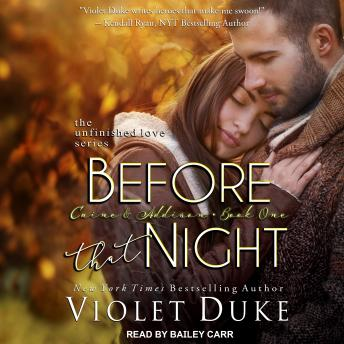 Before That Night: Caine & Addison, Book One