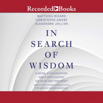 In Search of Wisdom: A Monk, A Philosopher and A Psychiatrist on What Matters Most