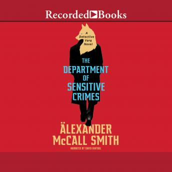 Department of Sensitive Crimes, Alexander McCall Smith