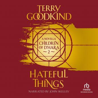 Hateful Things details