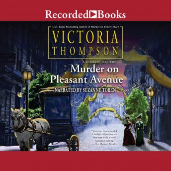 Murder on Pleasant Avenue, Victoria Thompson